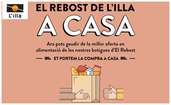 We take you the food of El Rebost de L'illa at Home